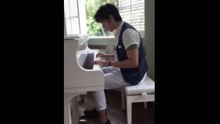 20150605 最新微電影《O的故事》李治廷 Aarif Rahman 彈鋼琴