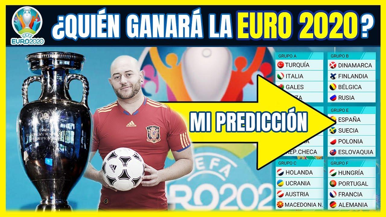 PREDICCIÓN EUROCOPA 2020 🏆 ¿Quieres Competir Conmigo? ⚽ Memorias del Fútbol