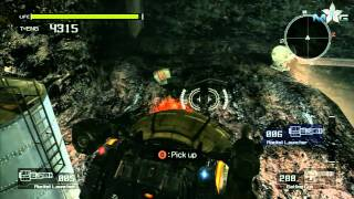 Lost Planet: Extreme Condition Walkthrough-Mission 9 Part 3-All Target Marks