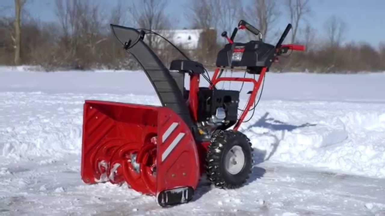 Troy-Bilt® Snow Throwers | User Testing & Design | How We're Built