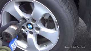 BMW X3 E83 Pads and Rotors Full Replacement Procedure