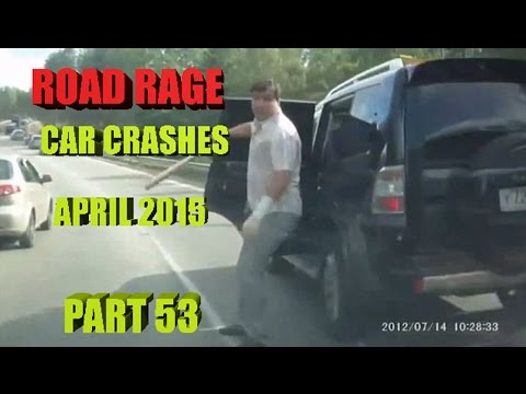 Road Rage 2015   Fight in Roads and Crashes