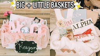 Big &amp Little Baskets Reveal What My Big Got Me!