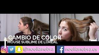 Download mousse loreal videos dcyoutube cambio de color 830 mousse sublime de loreal noes vlog altavistaventures Gallery