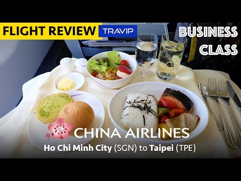 China Airlines Business Class: Ho Chi Minh City to Taipei | Travip Flight Review