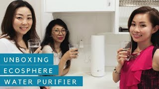Unboxing EcoSphere Water Purifier