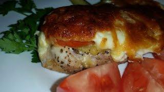 Мясо по-французски из куриного филе!!!