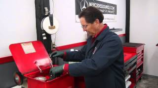 Cleaning Old Greasy Oily Engine Parts Safely and Effectively Part 1