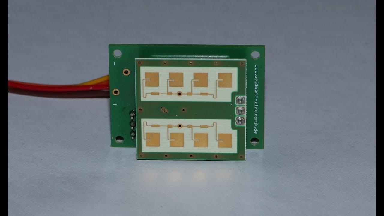 Arduino Radar - Bewegungen erkennen
