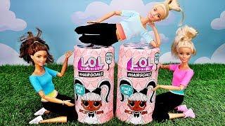 Niespodzianka od Skipper?  Bajka Barbie LOL SURPRISE #HAIRGOALS  Bajka po polsku Rodzinka odc57