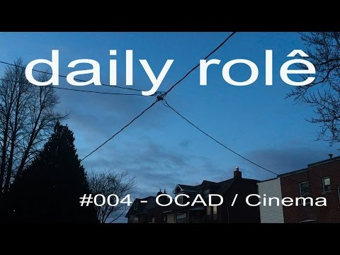 Daily Role #4 | OCAD & forever alone