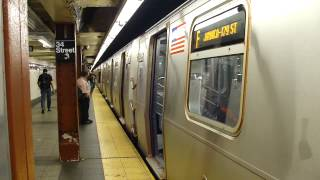 FASTRACK IND 8th Ave Line: R160A-2 F Train at 34th St-Penn Station (Queens Bound)