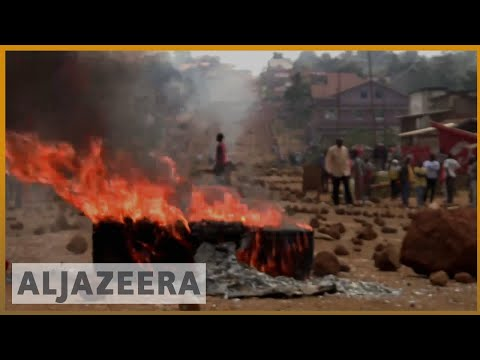 🇨🇩DRC elections unrest in opposition strongholds | Al JAzeera English