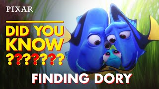 Finding Dory Fun Facts | Pixar Did You Know?