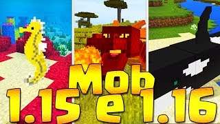 TOP 10 MOB (possibili) in MINECRAFT 1.15 e 1.16