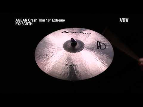 "Crash Thin 18"" Extreme video"