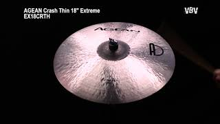 "18"" Crash Thin Extreme Video"
