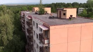 SECRET abandoned Russian city  in the middle of the Slovakia woods