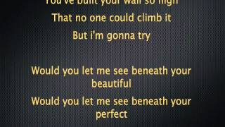 Labrinth - Beneath Your Beautiful feat. Emeli Sande Lyrics
