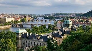 #860. Прага (Чехия) (лучшее видео)(Самые красивые и большие города мира. Лучшие достопримечательности крупнейших мегаполисов. Великолепные..., 2014-07-03T18:23:20.000Z)