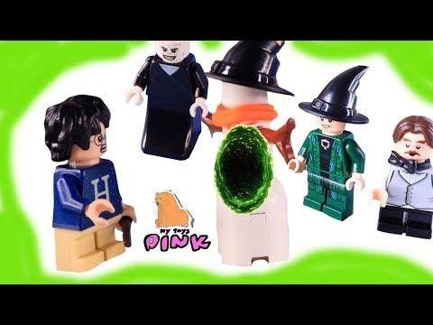ДЕНЬ 20 - 21! КОНЕЦ ДЕДУ МОРОЗУ! ГАРРИ ПОТТЕР #Челлендж Адвент Календарь Harry Potter Lego
