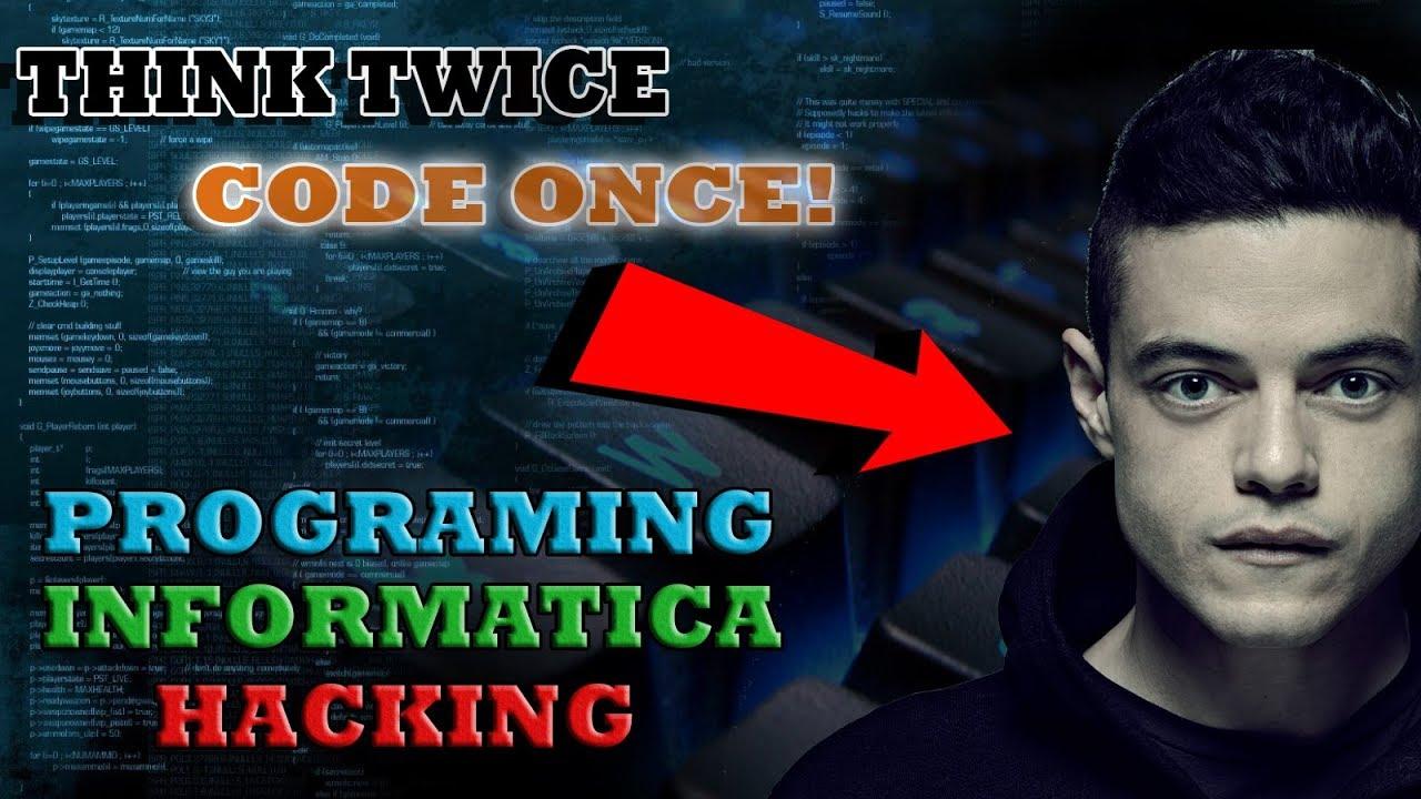 Motivación Para Programadores Informáticos Hackers