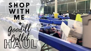 Shop with me at Fort Worth Goodwill Outlet + Bins haul