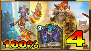 Hearthstone: 100% Winrate Against Shaman, Hunter and Rogue Pt.4 | Meta Breaker Deck | OTK Shirvallah