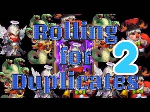 Castle Clash: Rolling Duplicates 2