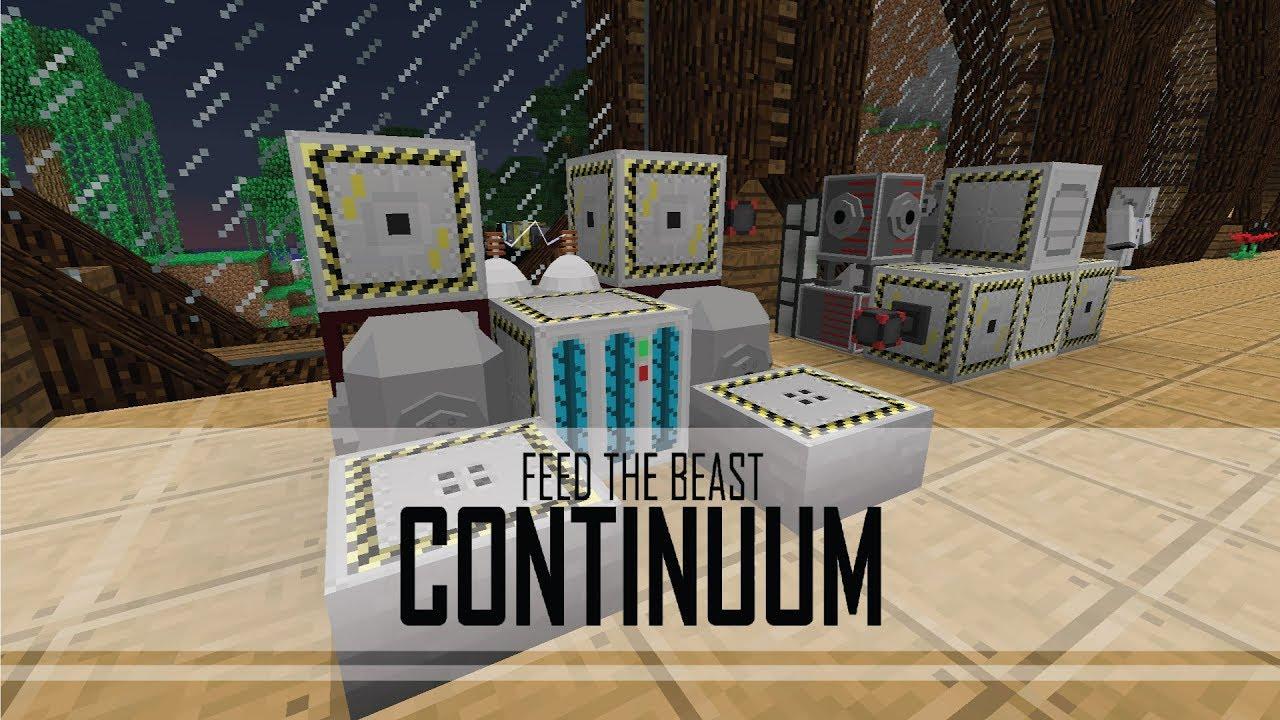 FTB Continuum - 40 - ADVANCED ROCKETRY AUTOMATION