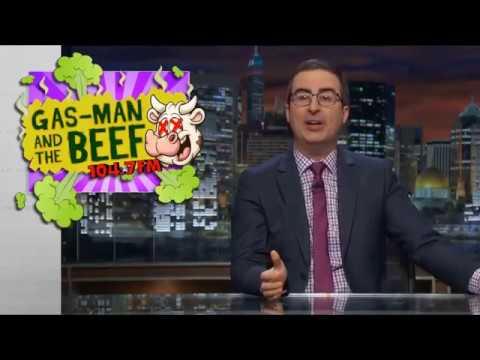 John Oliver: Gas Man an the Beef - Last Week tonight (HBO) Nov 05 2017