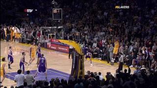 Kobe Bryant game winning buzzer beater vs. Sacramento Kings 60FPS HD 01-01-2010