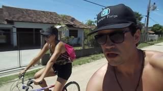 Onde ir em Santa Catrina ? De #Floripa para Praia do Rosa de #Bike #PraiadoRosa #Florianópolis