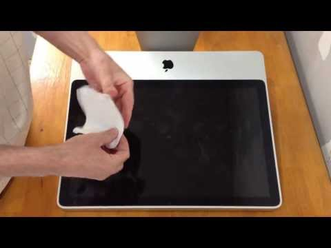 WICKED EASY open an iMac WITHOUT SUCTION CUPS