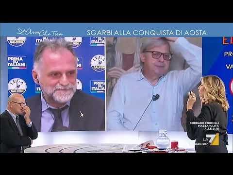 """Aosta, Vittorio Sgarbi al ballottaggio: """"Uno ha sicuramente vinto, sono io! Presenterò ..."""