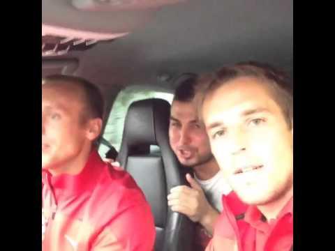 Глушаков и Комбаров едут после игры с Динамо - Спартак Instagram video