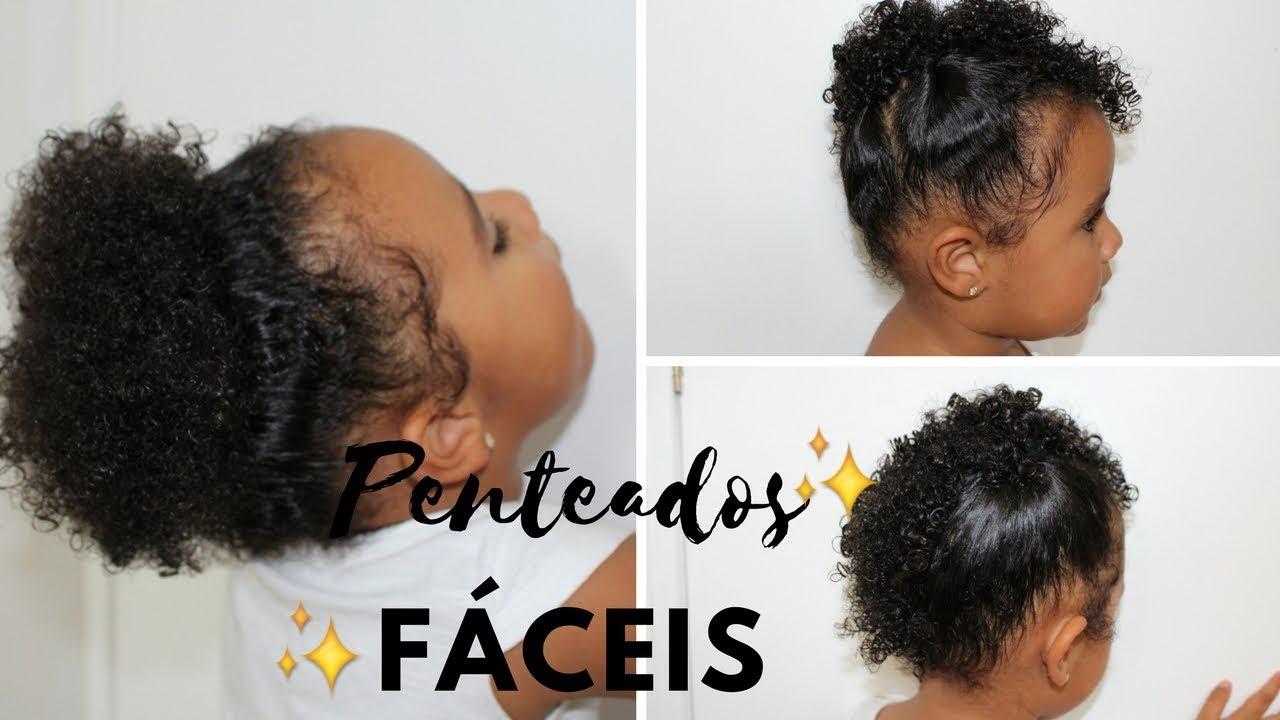 Penteados Fáceis Para Cabelo Cacheado Curto De Criança Ft Laura