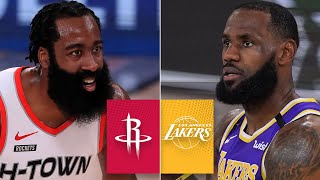 Check out game 1 highlights as james harden, russell westbrook and the houston rockets take on lebron james, anthony davis los angeles lakers in ...