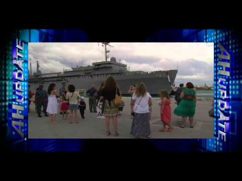 USS Frank Cable Returns to Guam
