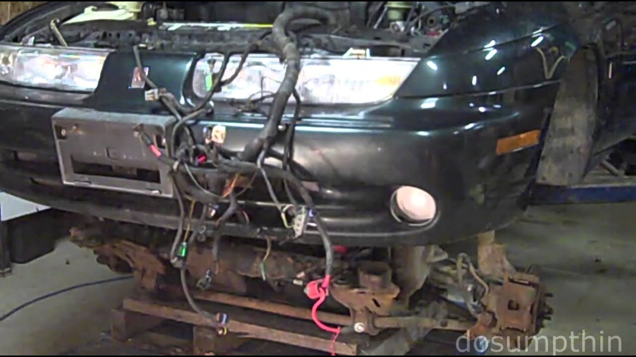 Removing An Engine Through The Bottom Engine Transmission