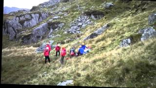 aberglaslyn mountain rescue team incident llyn y wrysgan 12th september 2014