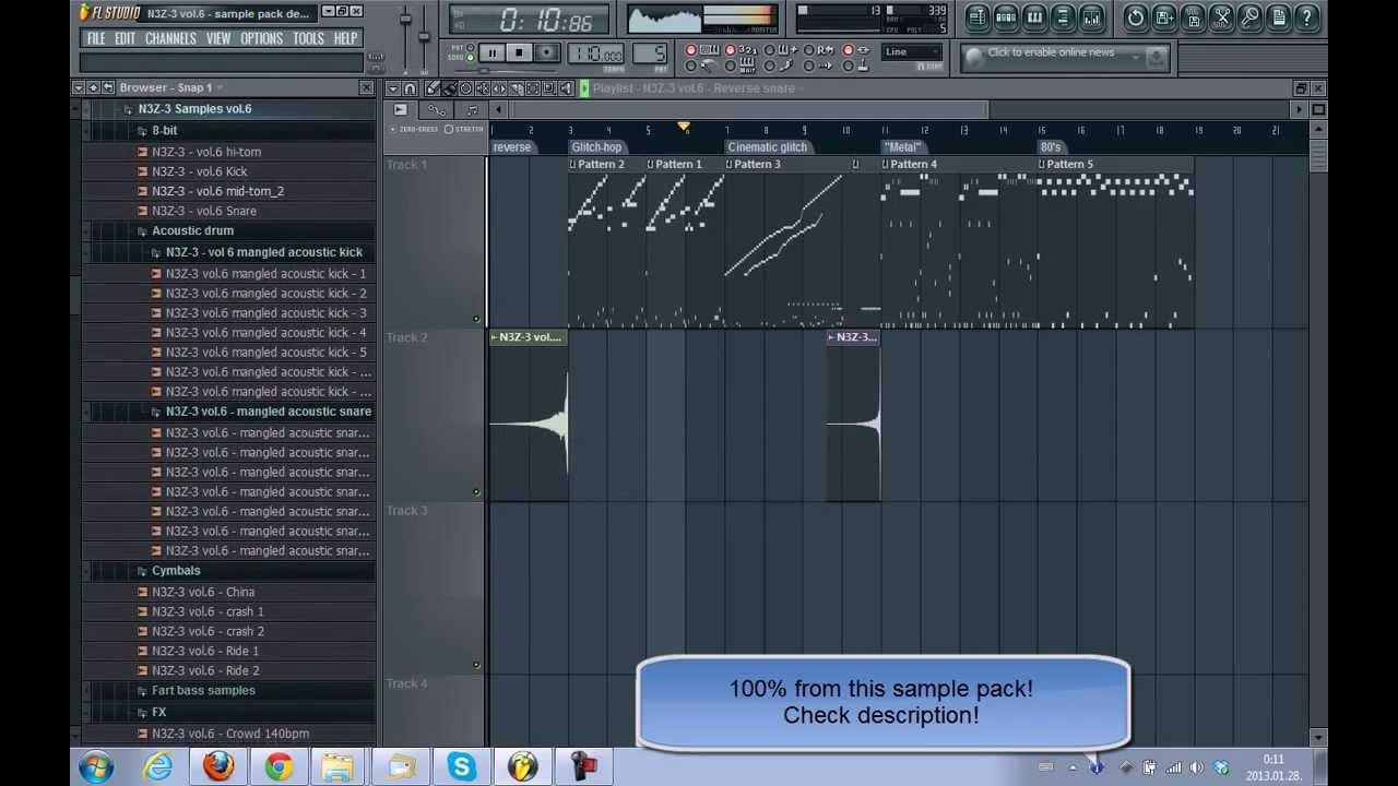 Samples] FREE sample pack vol.6 demo - YouTube