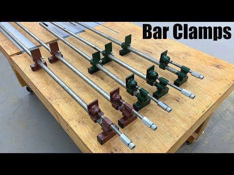 Homemade Long Bar Clamps