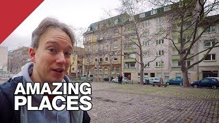 The European City Centre With No Street Names by : Tom Scott