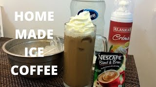 EASY HOME MADE ICE COFFEE