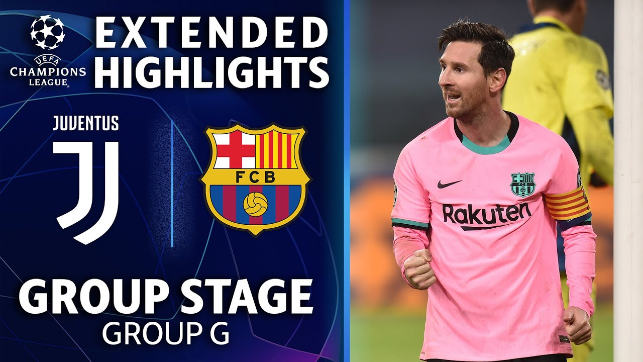 FC Barcelona Versus Juventus Champions League Result And ...
