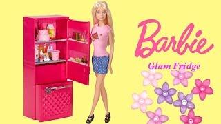 barbie life in the dreamhouse barbie glam fridge with barbie doll megabloks barbie luxury mansion