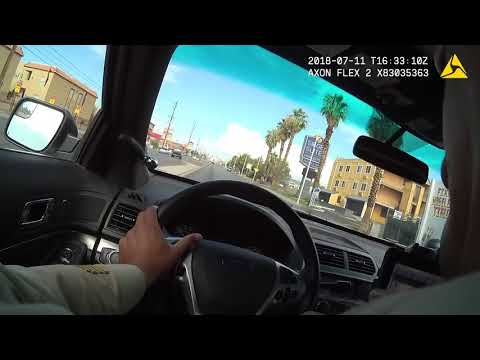 Raw video showing shootout involving LVMPD and murder suspects