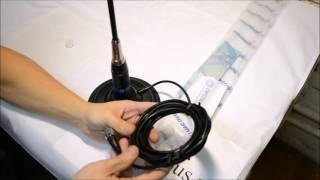 видео Антенна для радиостанции автомобильная
