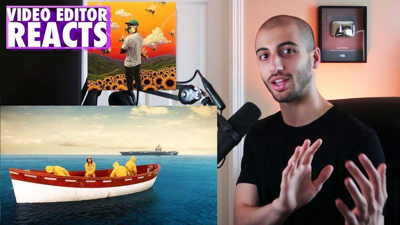 6a393b56f9d7 Video Editor s Reaction to Tyler The Creator - SEE YOU AGAIN (Music ...